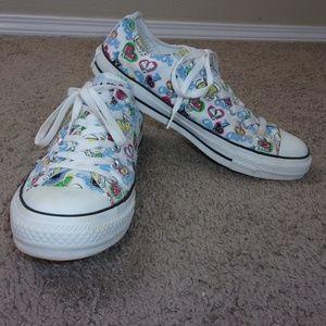 Converse I Love Chucks All Star Shoes